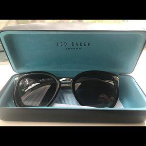 Ted Baker London Large Frame Sunglasses